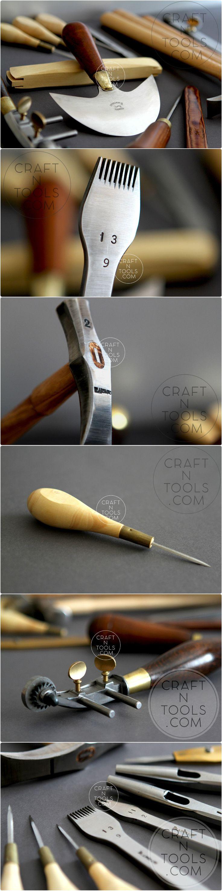 Vergez Blanchard tools for leathercraft #craftntools #leathercraft #leatherart #vergezblanchard #leathertools