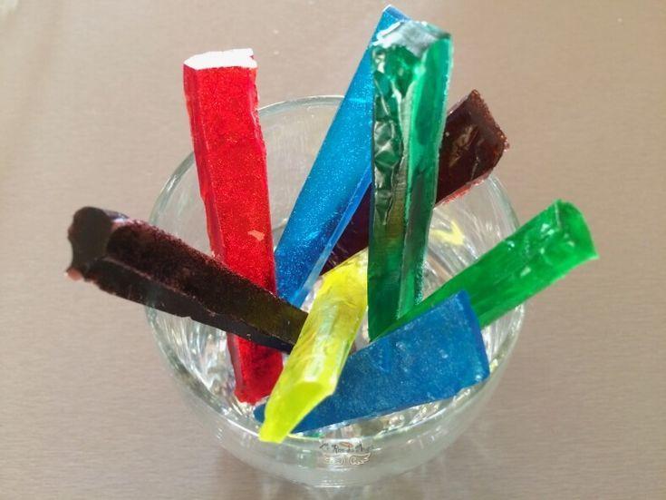 Savons colores pour le bain DIY