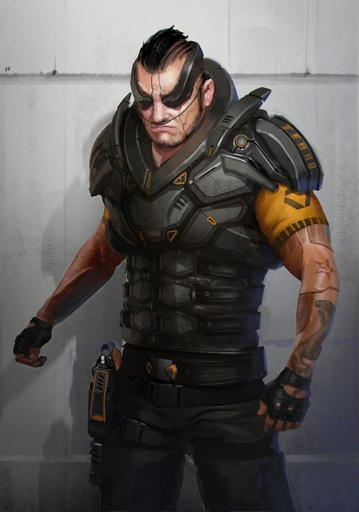 Sci Fi Character Design Tutorial : Best ideas about cyberpunk character on pinterest