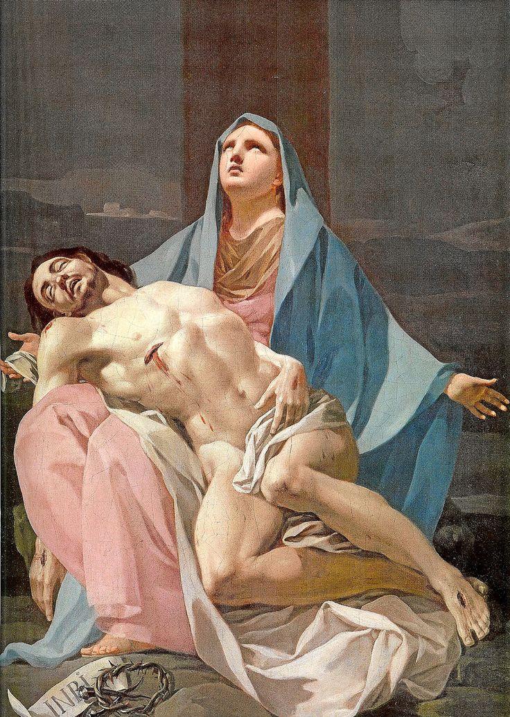 Francisco de Goya - Pieta (unknown medium, 1774)