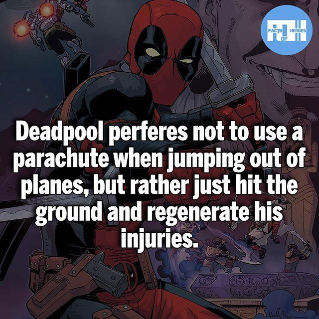 Only Deadpool!