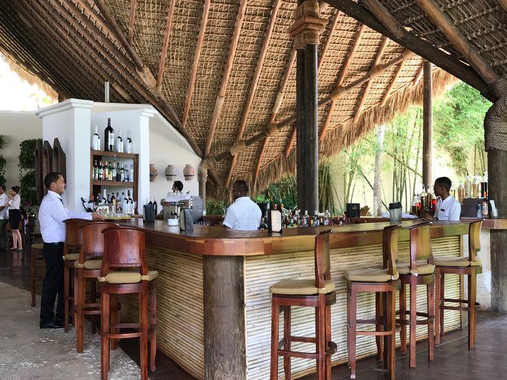 Canoa Lobby bar at Zoetry Agua Punta Cana