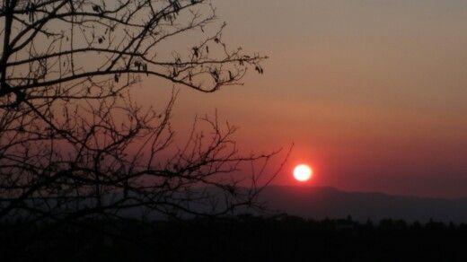 Maiano's sunset-Firenze, Tuscany