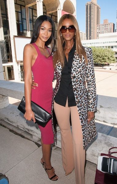 {Grow Lust Worthy Hair FASTER Naturally}>>> www.HairTriggerr.com <<<      How Sweet and Beautiful to See Chanel Iman & Iman the Legend Together!