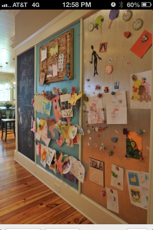 Creativity wall