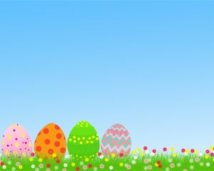Easter Free PowerPoint Template - Easter is one of the most important celebrations for humanity. So make it extra special by using cool and beautifully designed templates such as this.