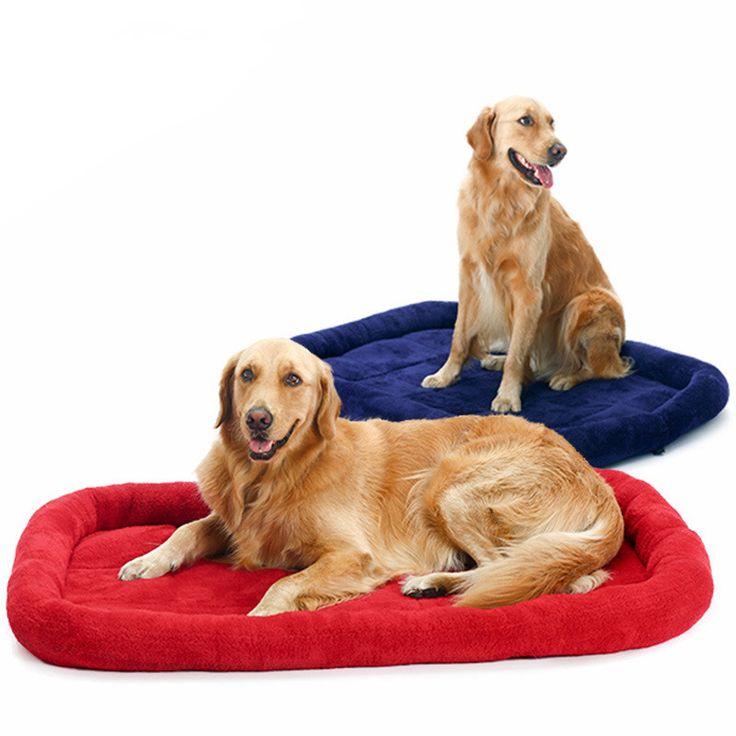 Супер Большой Кровати Собаки для Больших Собак Супер Теплый Собака Кошка спальный Коврик Огромный Матрас, Подушку Осень Зима Дом Любимчика Бесплатная Доставка
