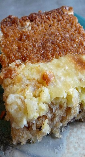 Fresh Apple Gooey Cake | Baking Blond