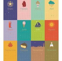 Calendario VICEVA 2014 , un proyecto de viceva | Domestika