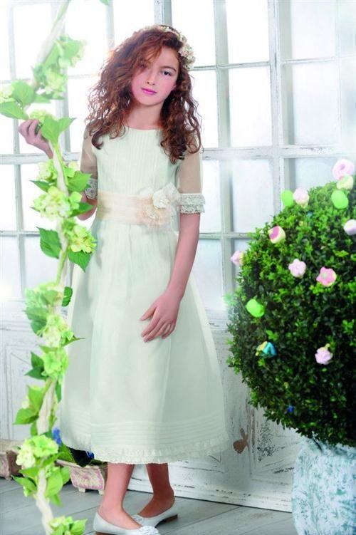 Vestidos de comunión para niñas 2012 de El Corte Inglés