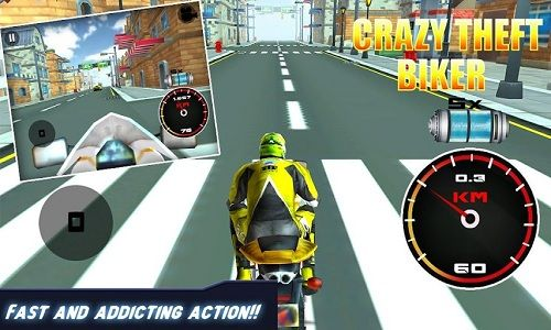 #3DBikeRacing Get ready for breathtaking 3D crazy fun #driving where you get to drive a real #motorbike on the crazy pavement rally.