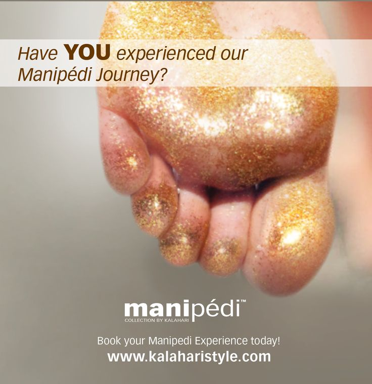 Have you experienced our Manipèdi Journey? @KalahariStyle ‪#‎Kalaharistyle‬ ‪#‎ShimmerandShine‬ ‪#‎ManipediJourney‬ Visit our website to find your Kalahari Salon www.kalaharistyle.com