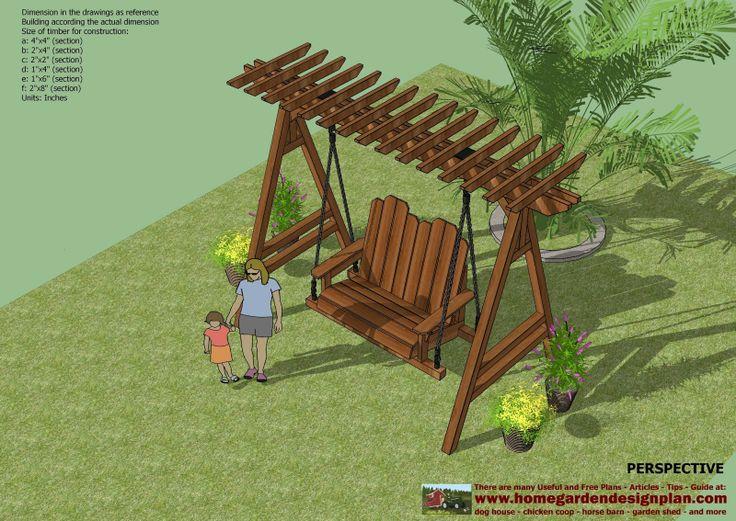 36 best Swings images on Pinterest Garden swings Outdoor swings
