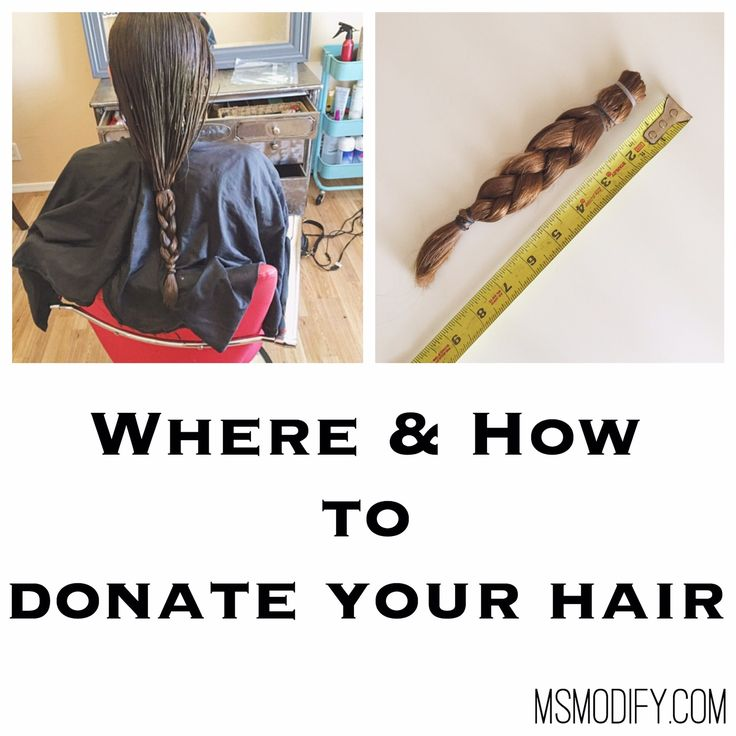 Where & How to Donate Your Hair... Everything you need to know!