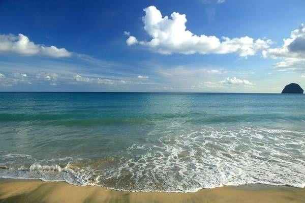#Martinique. Beautiful Martinique's beaches and marvelous sea.