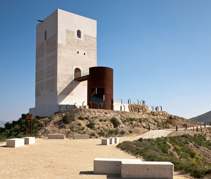 Tower restoration by castillo miras arquitectos in hu rcal - Arquitectos almeria ...