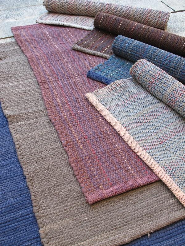 Braided Rug Loom Blue Mix