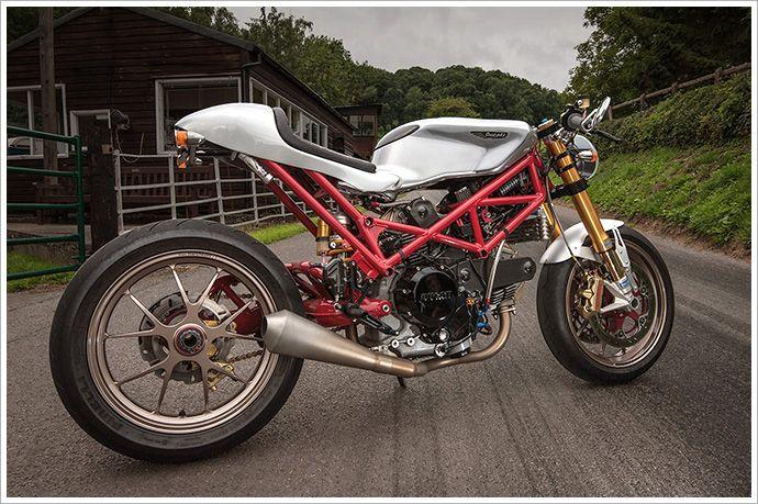 Ducati Monster SR2 800 Café