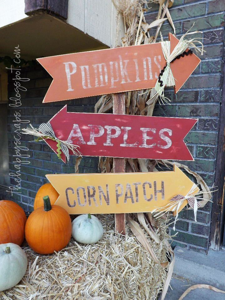 fall halloween wood crafts for outside - Google Search