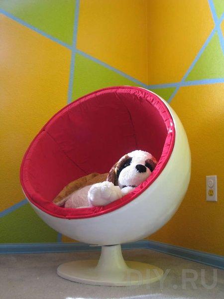 Как сделать круглое кресло своими руками. Строительный портал DIY.RU