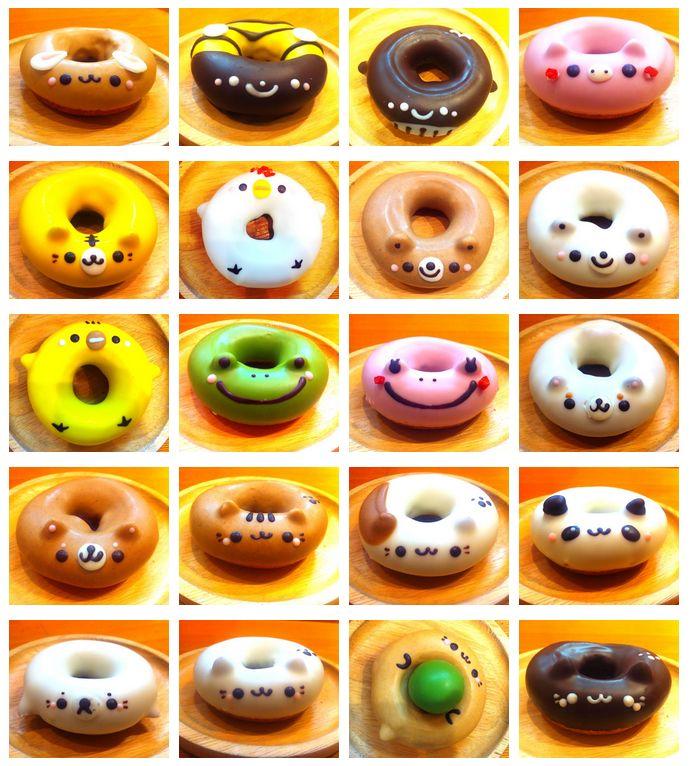 Animal Donuts from Kawasaki, Japan!