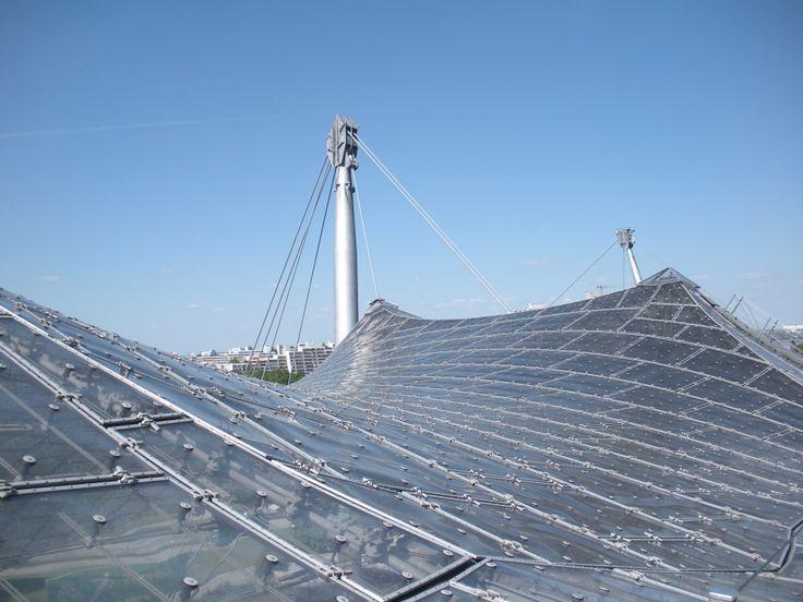 Munich Olympic Stadium Arquitectura