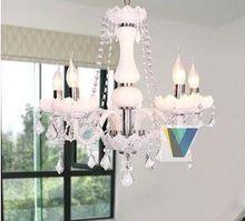 Современный минималистский гостиной фары молочно-белый люстры подвесные светильники доступны из светодиодов спальня