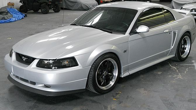 2000 Ford Mustang GT 4.6L, Automatic presented as lot J63 at Kissimmee, FL 2015 - image1
