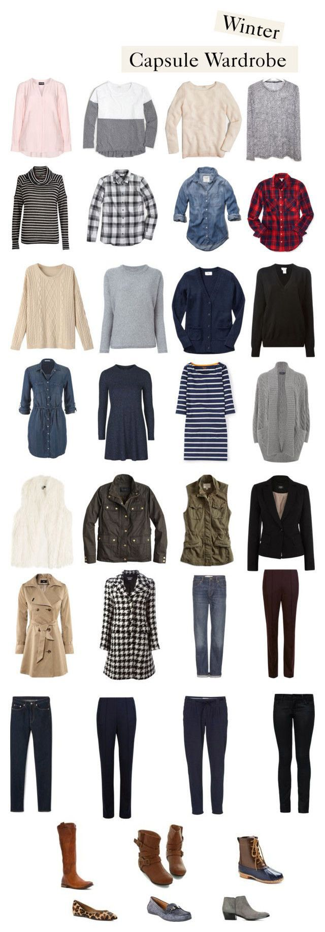 25+ Cute Fall Capsule Wardrobe Ideas On Pinterest
