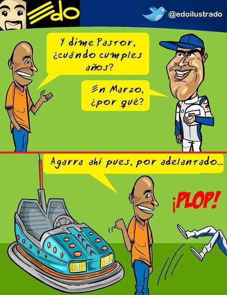 RT @edoilustrado: Caricatura EDO: Pastor Maldonado en Los Próceres (2)