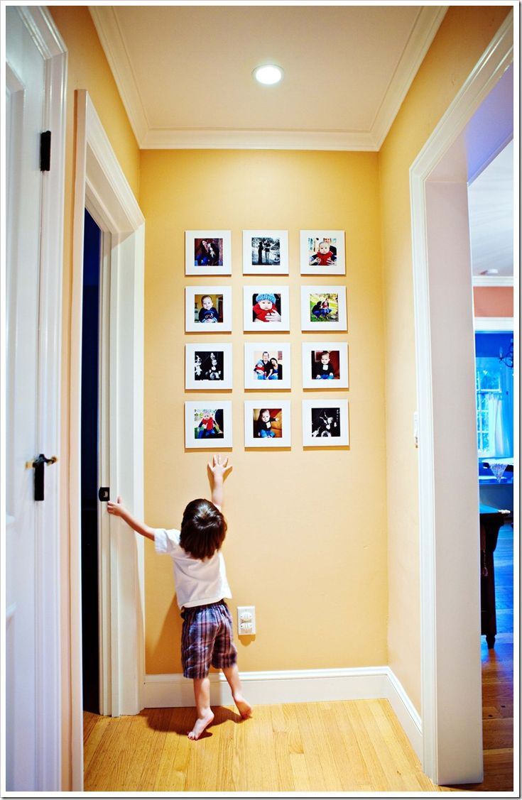 Narrow hallways color ideas - Don T Forget The End Of The Hallway Those Colors Work Fantastic On That Wall