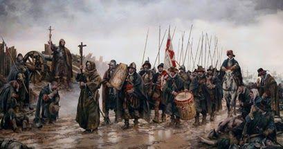 """""""La Batalla de Empel"""", el cuadro de Ferrer-Dalmau que rinde tributo a los Tercios ABC noticias Enlace a Facebooks"""