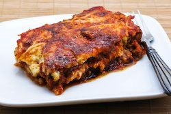 Grilled Zucchini Lasagna with Italian Sausage, Tomato and Basil Sauce ...