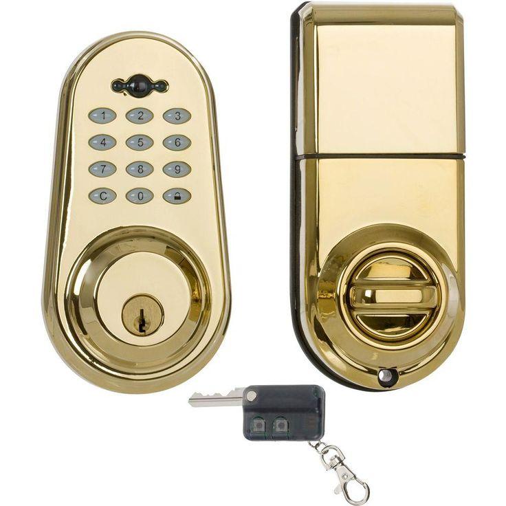 1000 Ideas About Electronic Deadbolt On Pinterest Hotel Lock Keypad Deadb