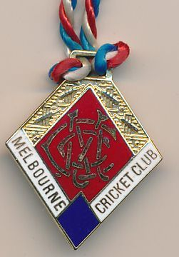 Perpetual Melbourne Cricket Club Badge