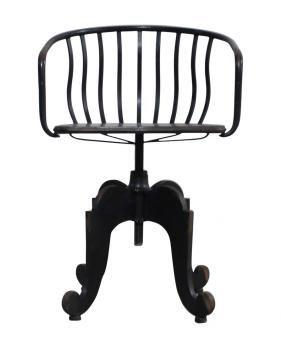 JOHNSON SWIVEL CHAIR. A Block and Chisel Product.
