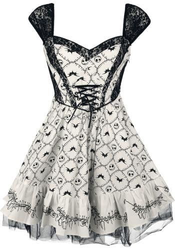 Skull Dress - Korte jurk van The Nightmare Before Christmas