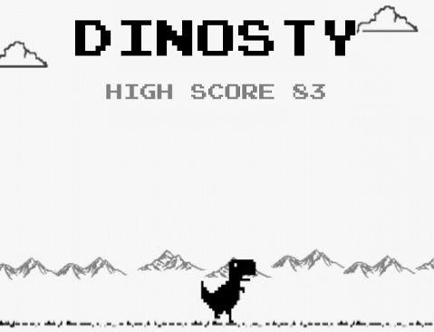 I'Easter Egg di Chrome per Android, della versione desktop, diventa un gioco gratis nel Play Store: Dino Run – Dinosty.
