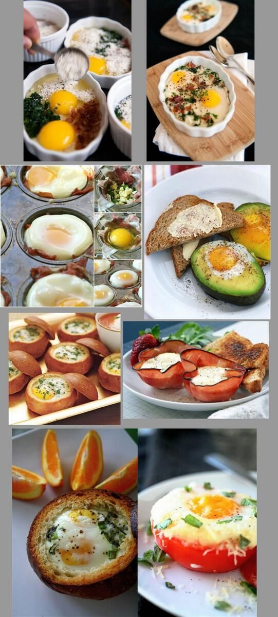 いろいろなベイクドエッグ。朝ご飯にいいかも? pic.twitter.com/uVL7nUhS3s