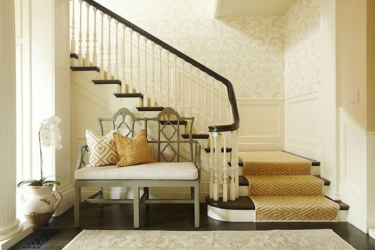 Foyer With No Stairs : Hudson interior designs perfection gorgeous foyer with