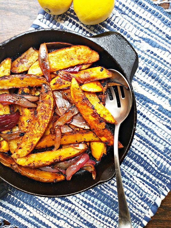 The most flavorful potato wedges, made cajun style!