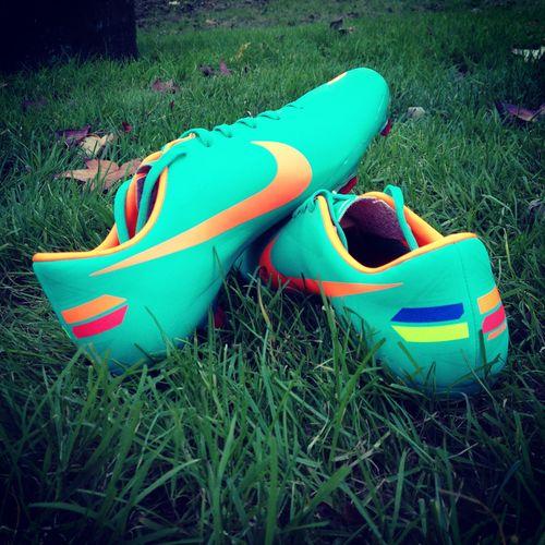 Soccer Cleats On Feet