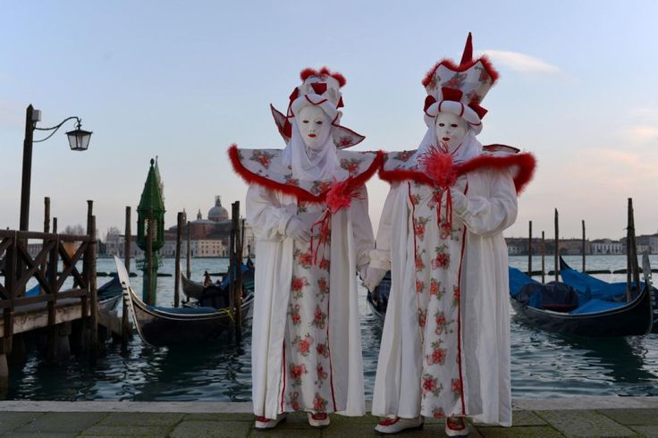 "2014 Carnival of Venice: ""Wonder and Fantasy Nature."" for some reason this makes me think of beddy-bye time :)"
