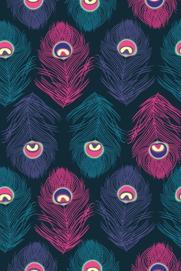 Peacock Feather Pattern Wallpaper IPhone And Iphonetokok Infinity