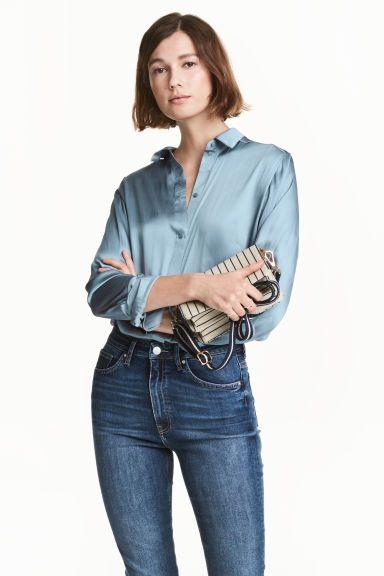 Blouse en satin | H&M
