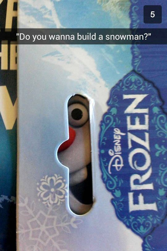 Not Now, Olaf #funny #lol #humor