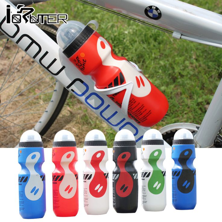 Portable Outdoor Hiking Camping Bike Bicycle Cycling 750ml Water Bottle 8 Colors Colorful Lightweight Bicicleta Botella De Agua