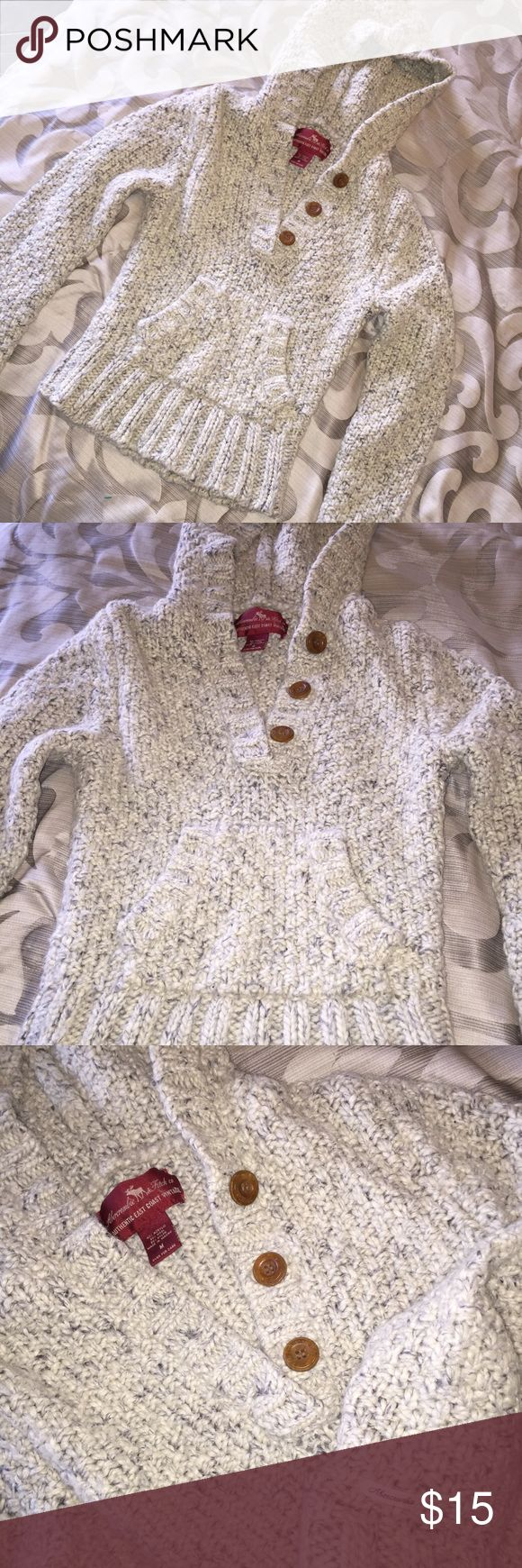 Abercrombie & Fitch Sweater Great condition. Says size M, but it is short. Abercrombie & Fitch Tops