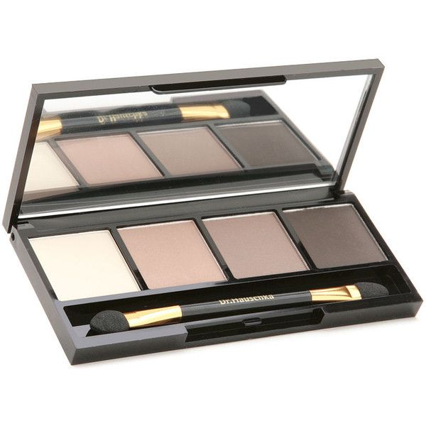 Dr.Hauschka Skin Care Eyeshadow Palette 1 ea ($49) ❤ liked on Polyvore featuring beauty products, makeup, eye makeup, eyeshadow, beauty, dr.hauschka eyeshadow, dr hauschka eye shadow, palette eyeshadow, mineral eye shadow and mineral eyeshadow