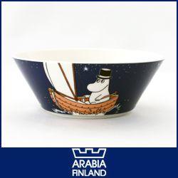 ARABIA ( アラビア ) MOOMIN ( ムーミン ) ボウル / パパ ( ネイビー ) 【楽ギフ_包装】【楽ギフ_のし】 .【楽天市場】